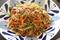 野菜嫌いでも野菜が180g摂取できる健康焼きそばのレシピ