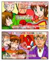 中学三年生、ちゃおで漫画家デビュー