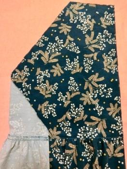 スカート 身頃 縫い合わせ