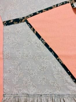 衿ぐり まっすぐ縫い