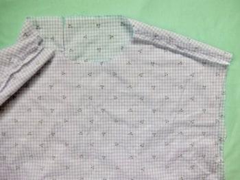 肩線 縫う