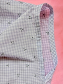 袖口線 縫う