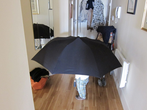 電車に傘を忘れた自分をほめる方法
