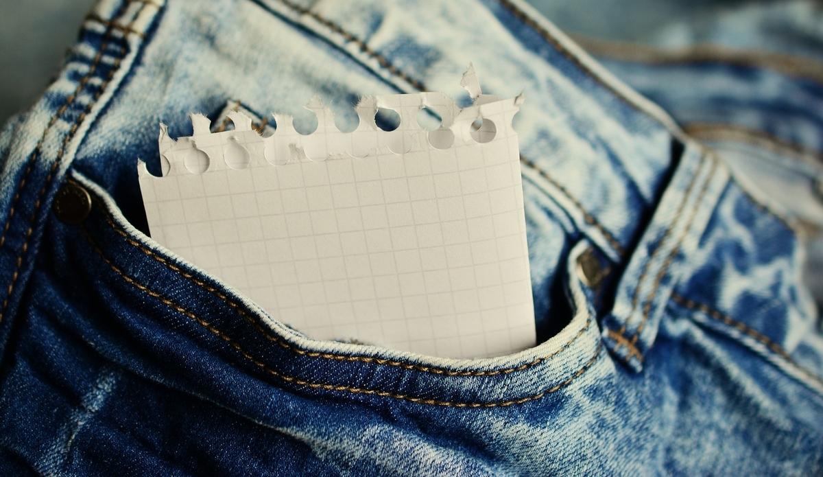 Galaxy Note10+のメリット①:ポケットに入るのでメモ帳代わりになる