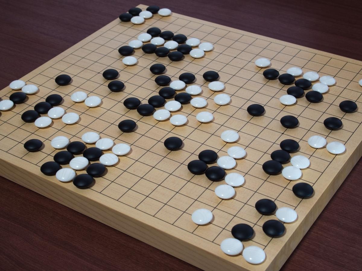 一番はまったゲームは『囲碁』