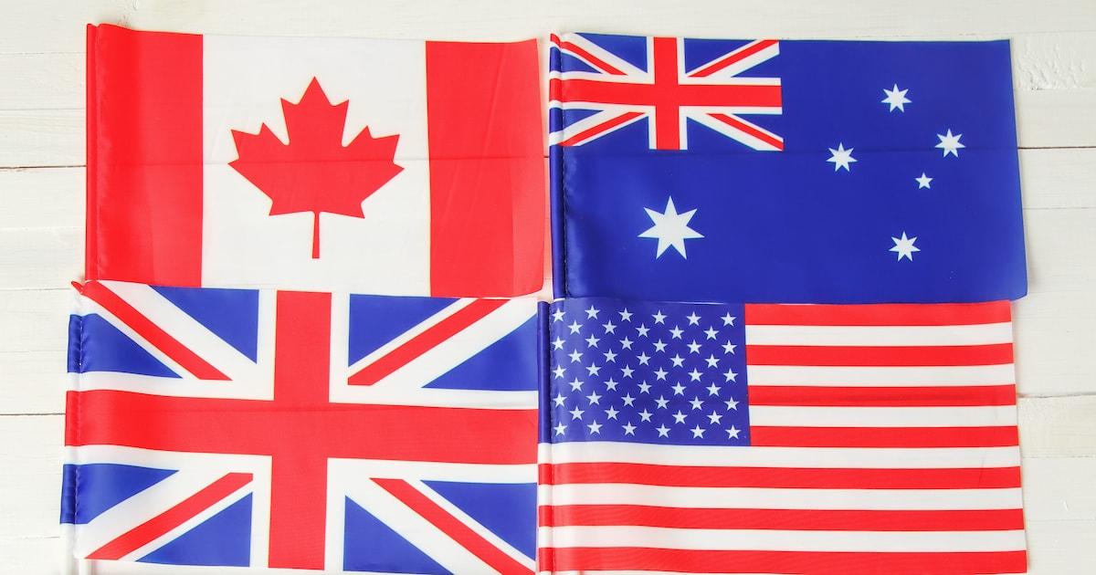 知らないと損! イギリス・アメリカ・カナダ・オーストラリア・ニュージーランド英語の学び方-main