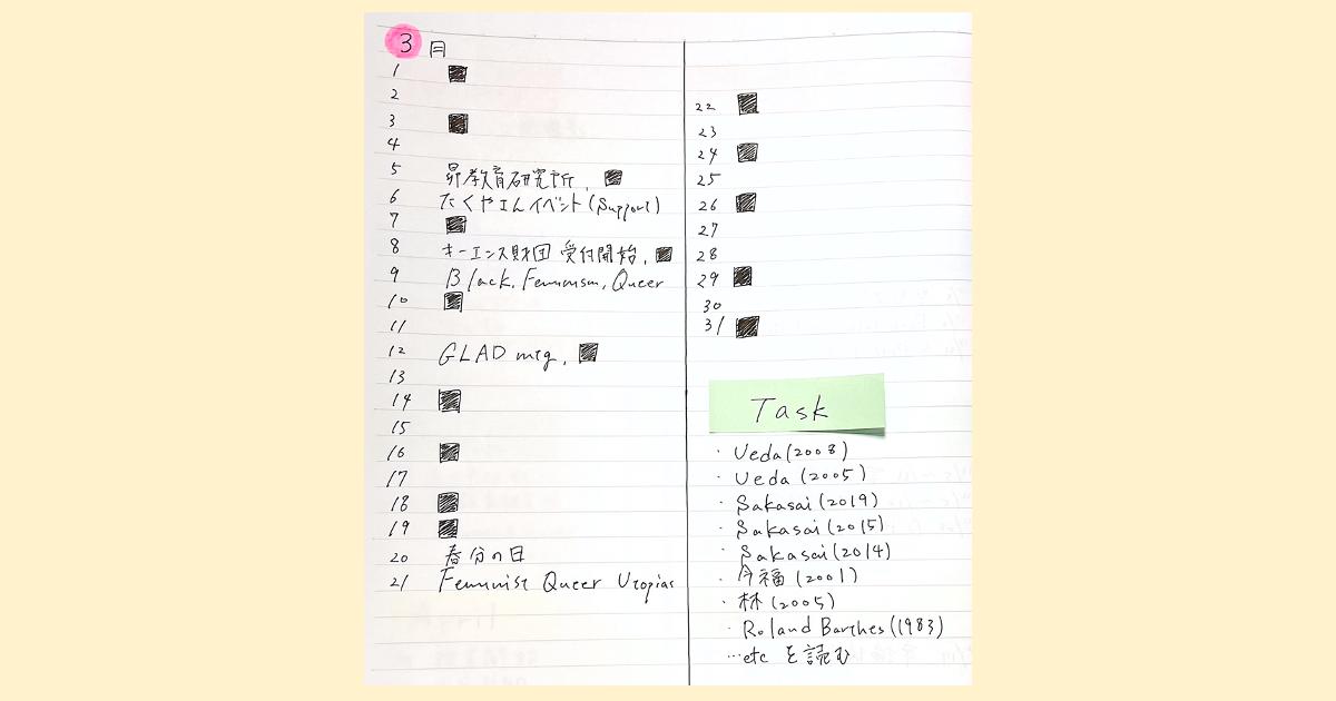 世界最強の手帳術「バレットジャーナル」を実践してみた06