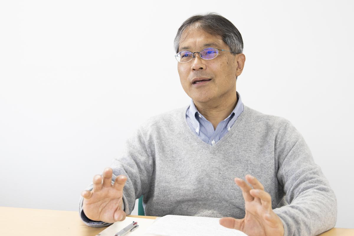 平井孝志先生インタビュー「図で考えるメリット」02