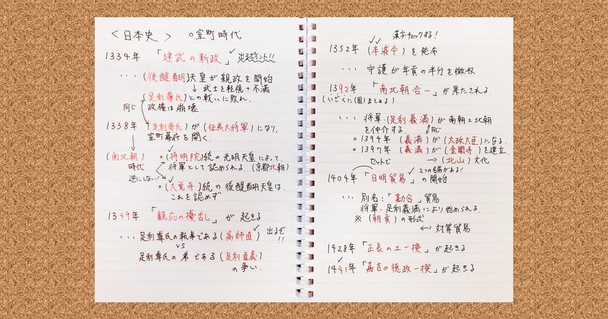 学習効果が爆上がりする東大生のノート02