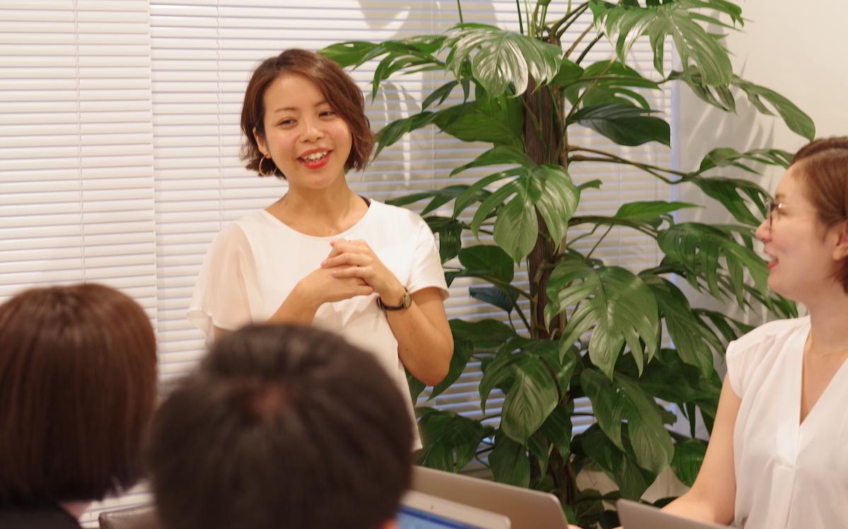 【ENGLISH COMPANY】板井さん トレーニング画像