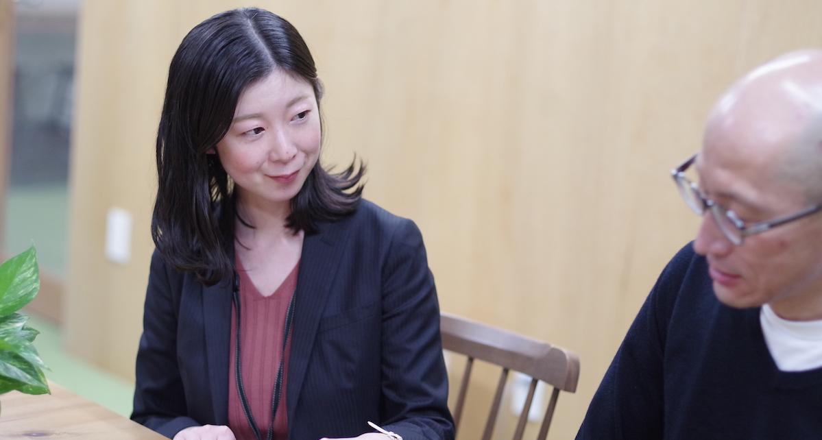江藤英男さんと小関明子トレーナー