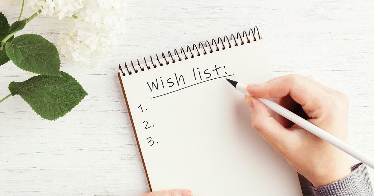 Wishリストを書いて自己肯定感を高める03