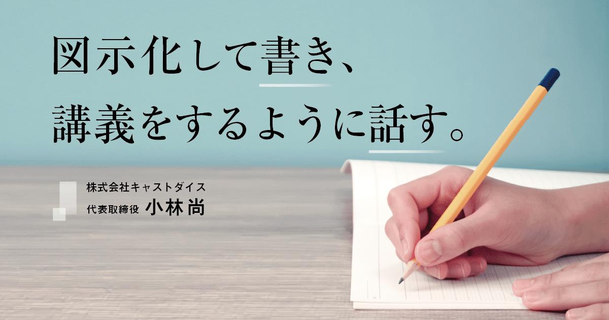 小林尚さんインタビュー「書く&話す_勉強におけるアウトプットのコツ」01
