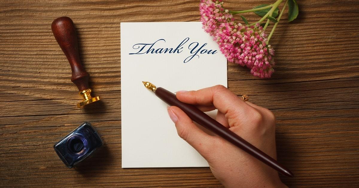 3分間で15個の「ありがとう」を書き出す効果01