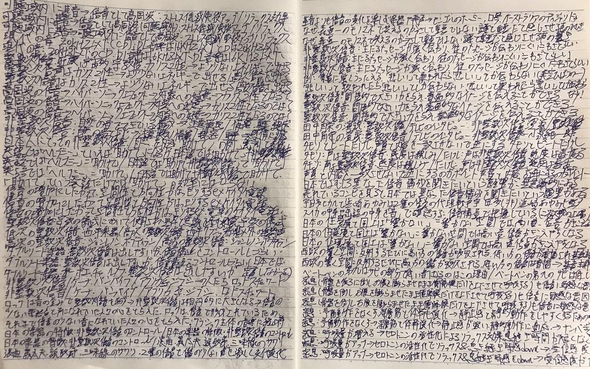 青ペン書きなぐり勉強法と3ワードノート術徹底比較04