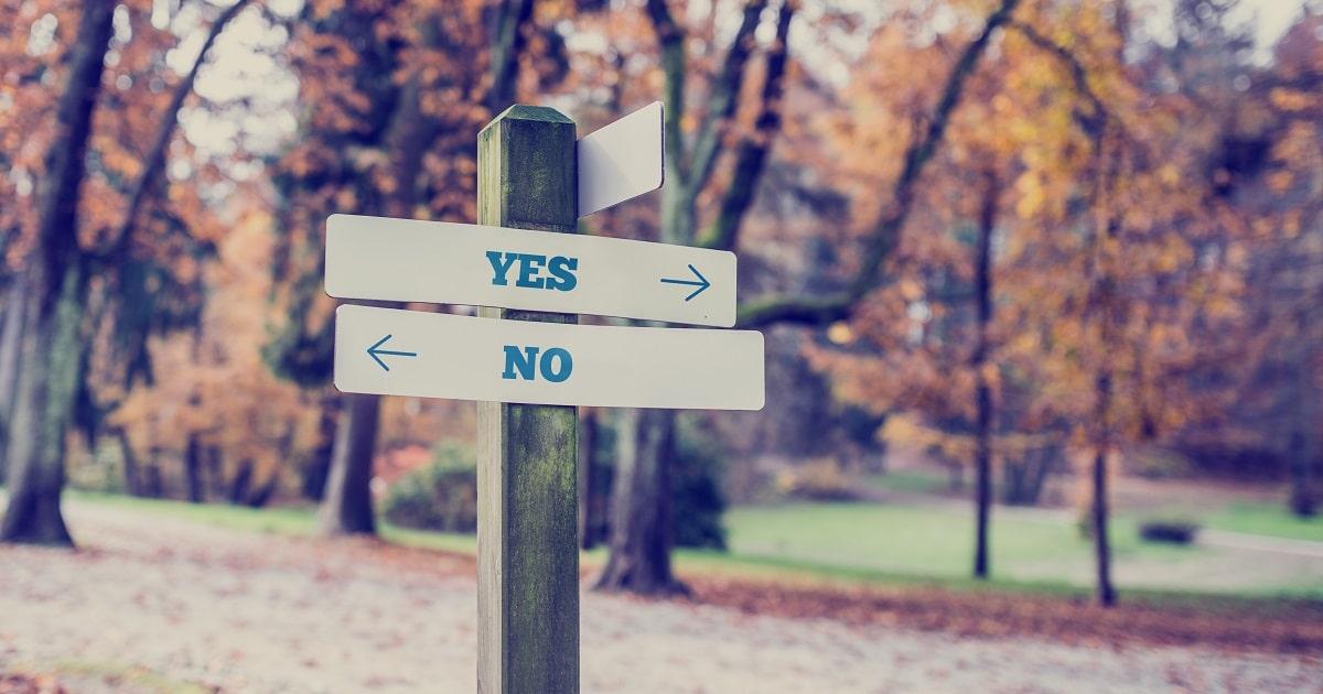 YesとNoを正しく使い分ける方法01