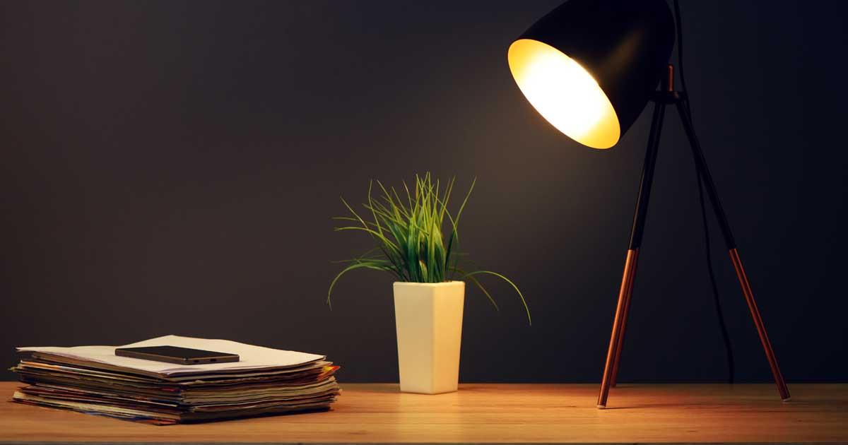照明を工夫して、勉強に集中しやすい部屋をつくりましょう