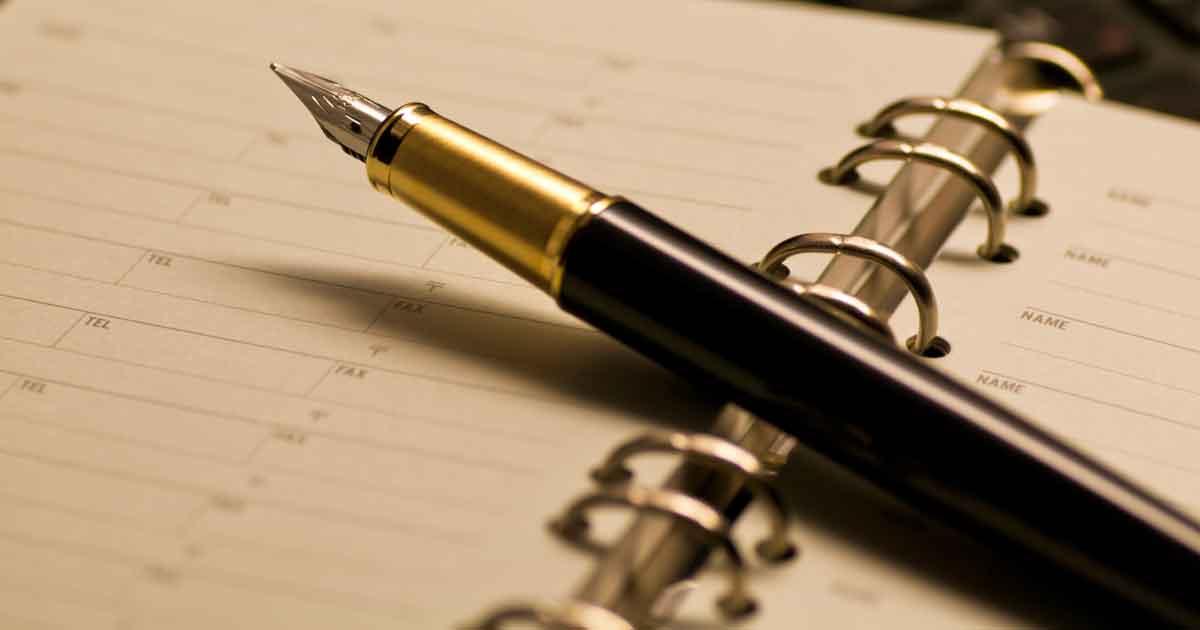 手帳の活用術1