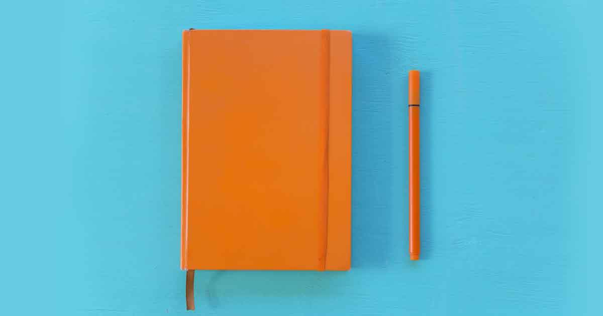 勉強のやる気を出すにはオレンジ色がおすすめ。