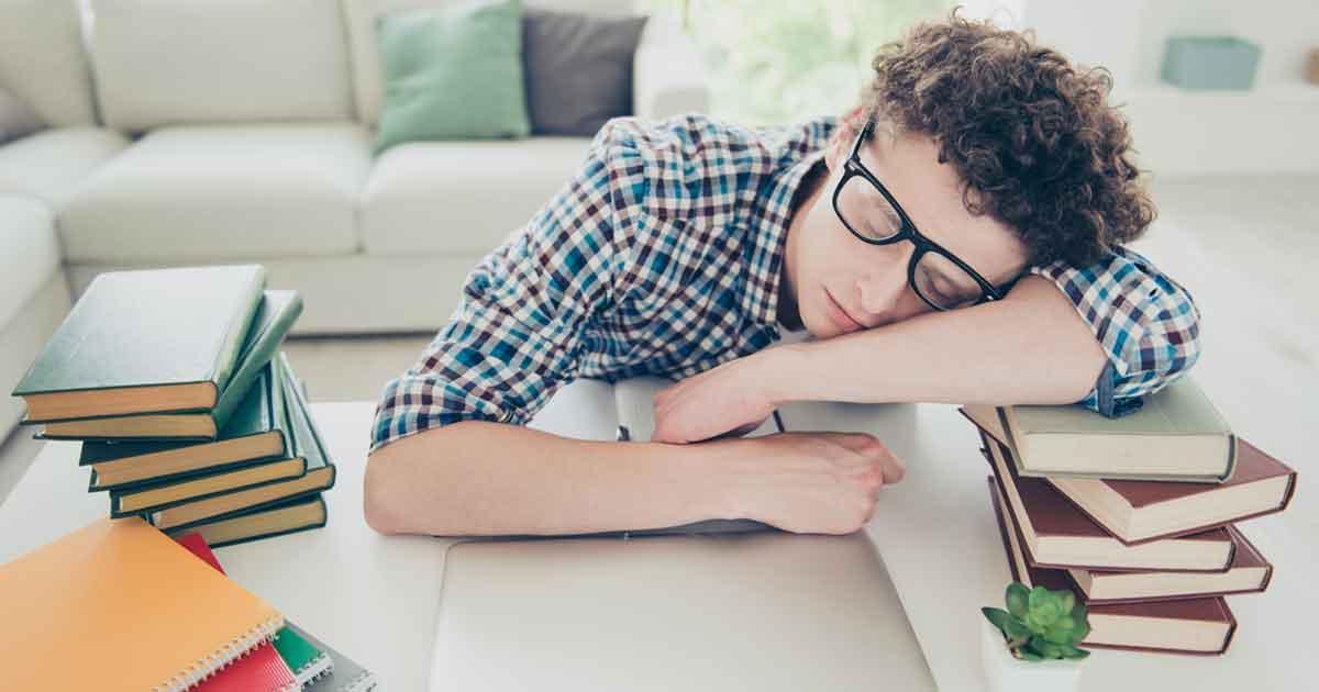 やる気を出して勉強したいのに眠いとき1