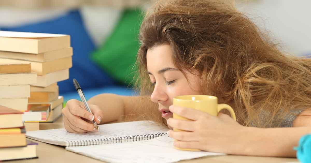 やる気を出して勉強したいのに眠いとき2