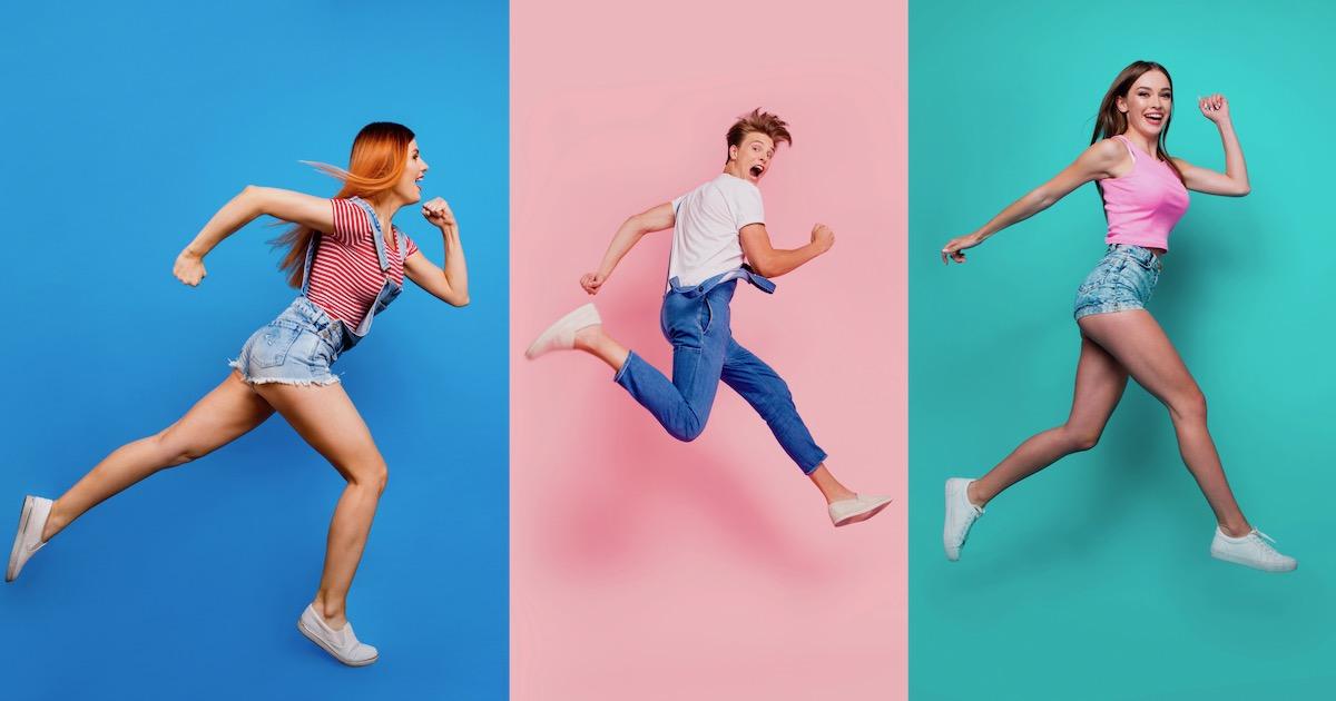 ジョギングするだけで「幸せホルモン」が増える。運動がストレス解消に ...
