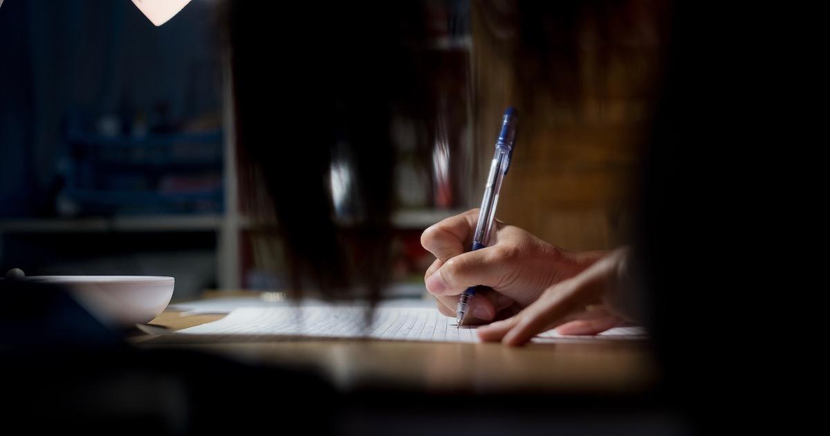 青ペン書きなぐり勉強法02