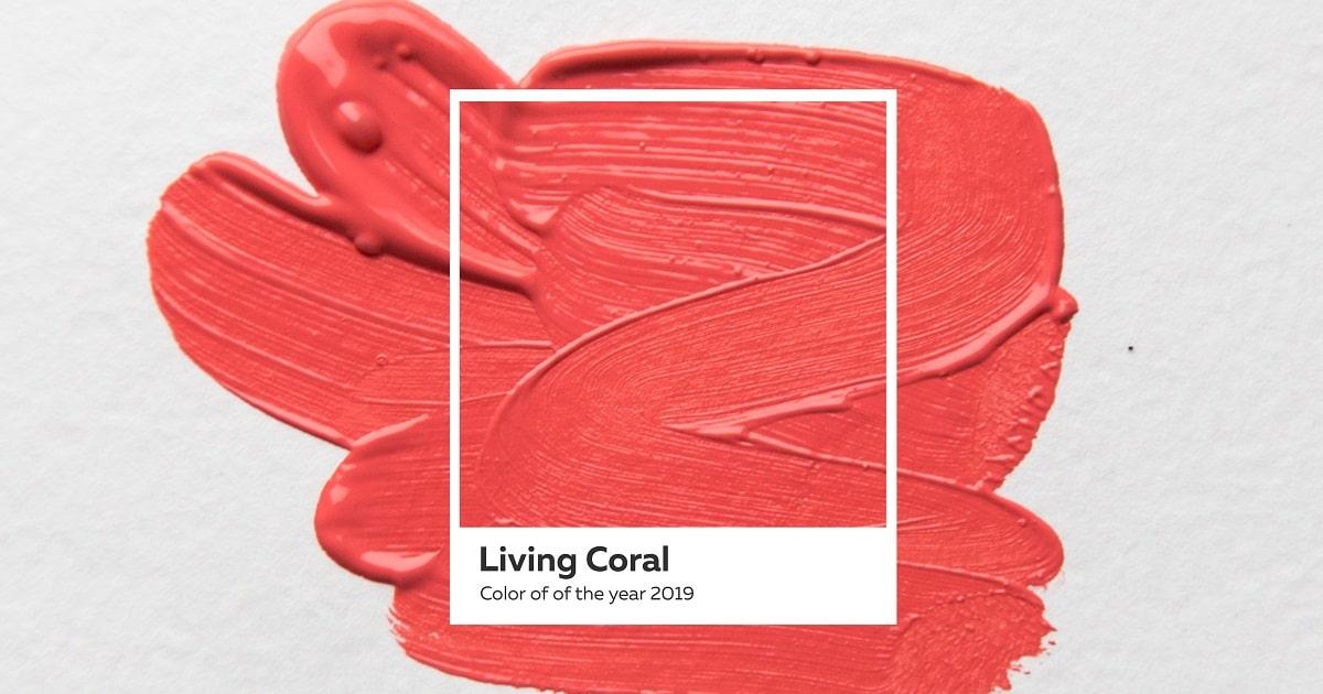 2019年のパントン・カラー・オブ・ザ・イヤーはサンゴのようなリビング・コーラル