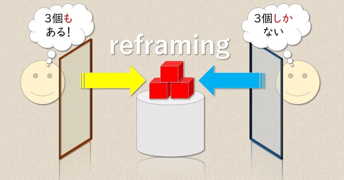 リフレーミングの図解