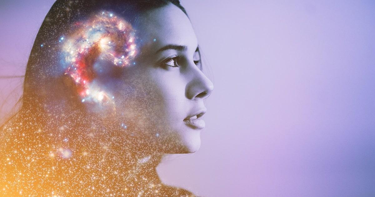 イメージトレーニングが、あらゆる脳の領域に影響しているイメージ