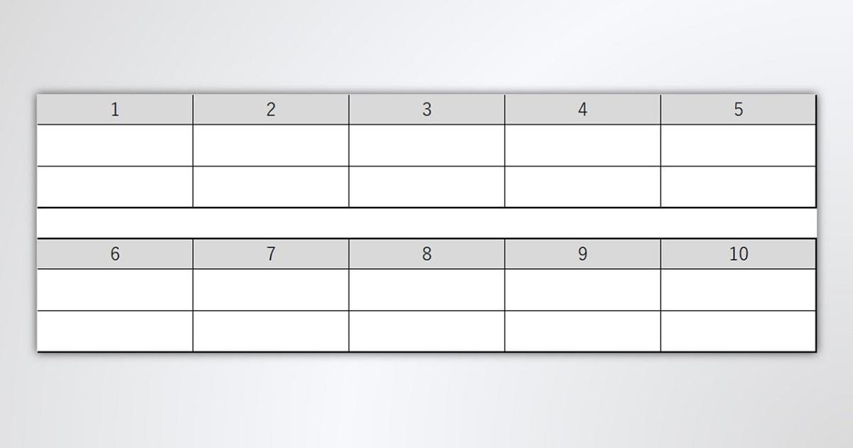 「イメージ変換トレーニング」のための表