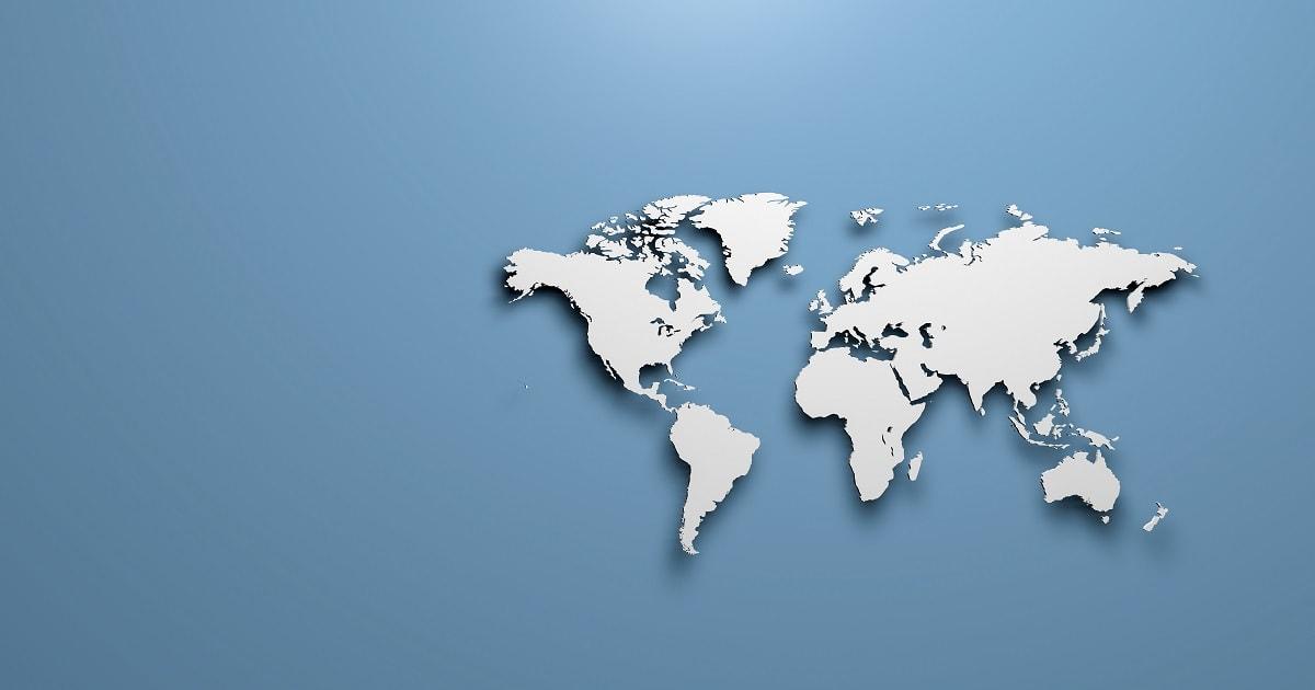 世界の国土面積
