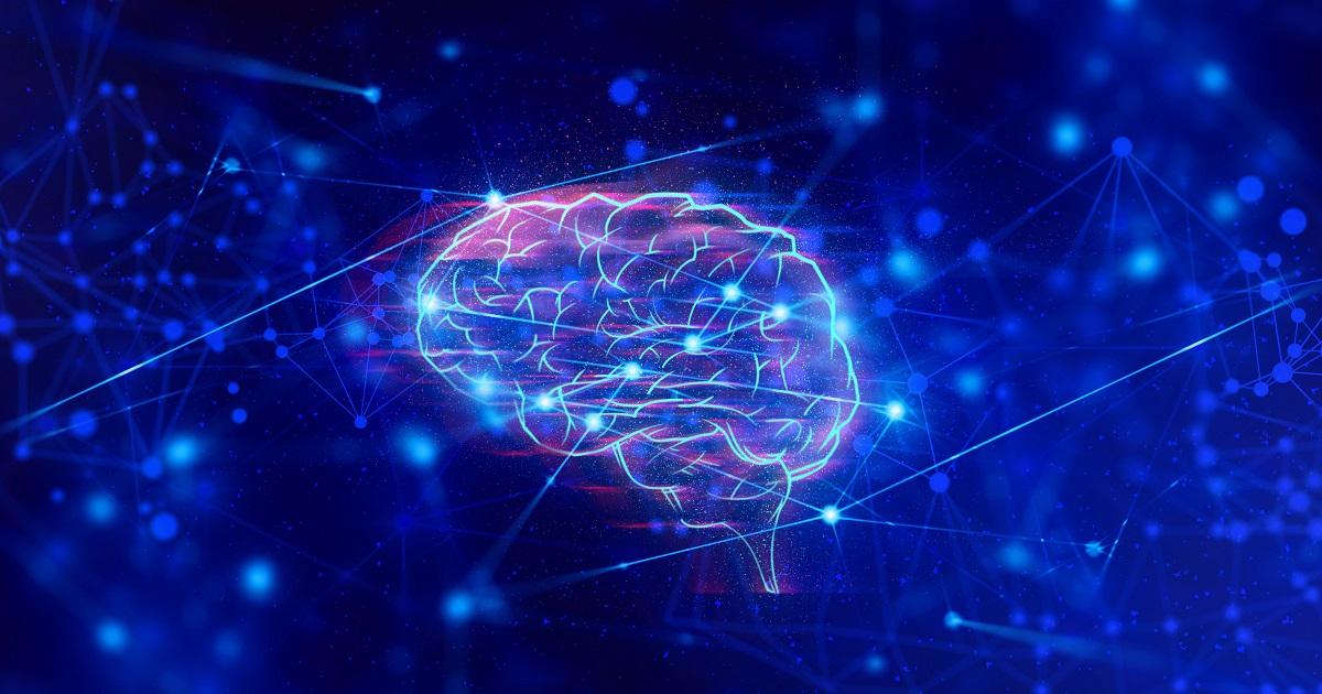 脳の情報処理のネットワークを表したイラスト
