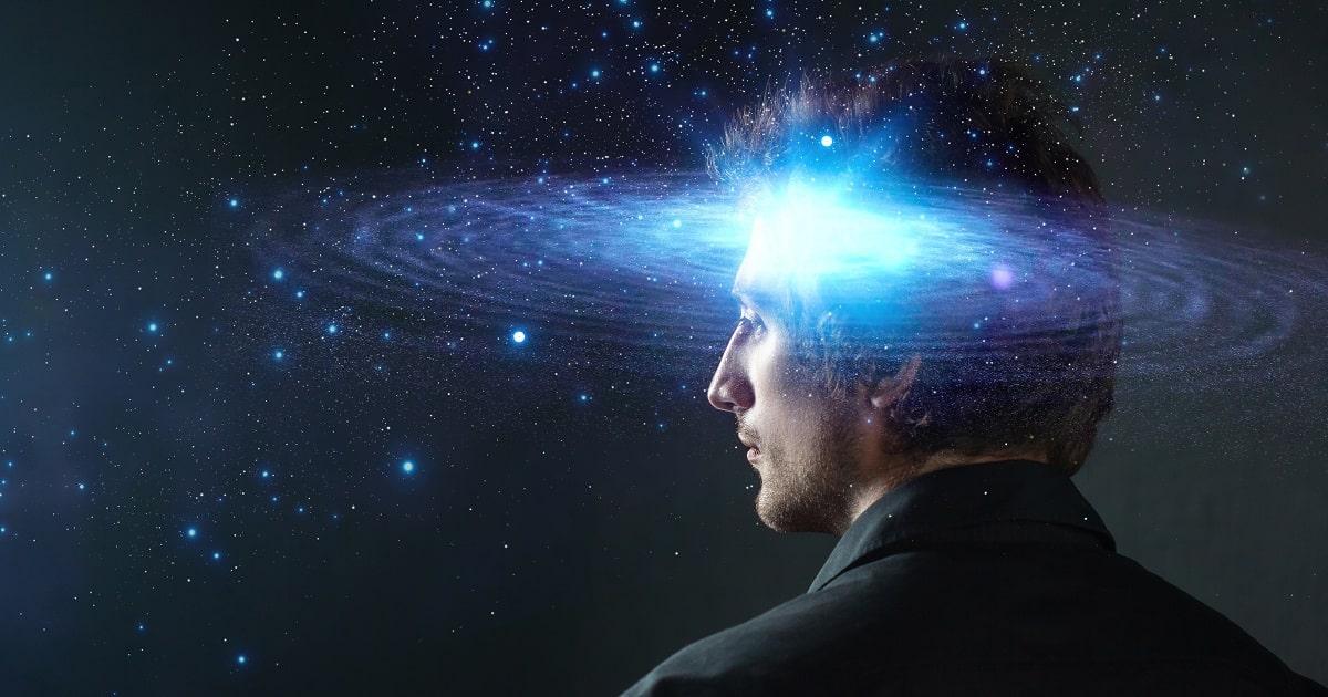 銀河系のようなニューロンのイメージ