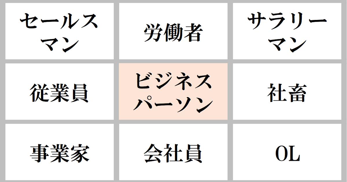 語彙力を上げる9マス類語変換ゲーム04