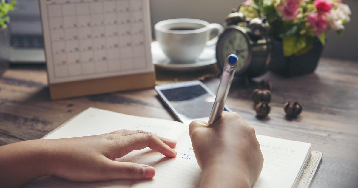 ほめ日記で思考が前向きになる01