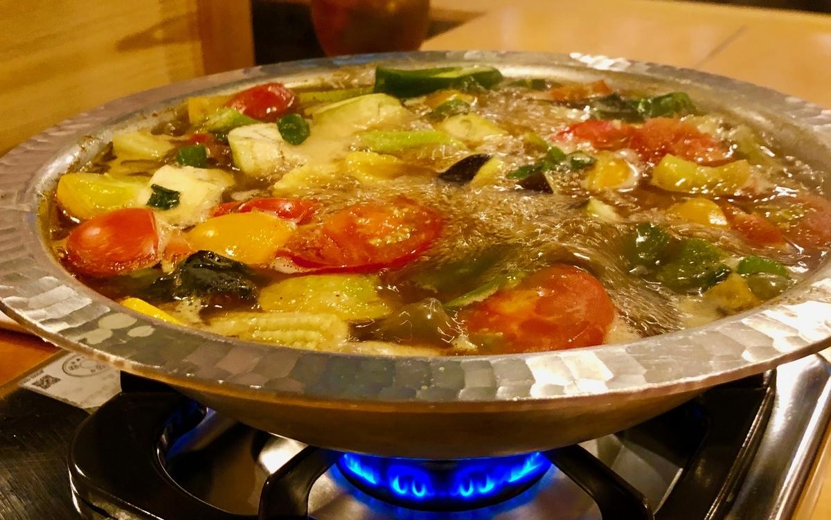 カレー鍋 煮込んで美味い