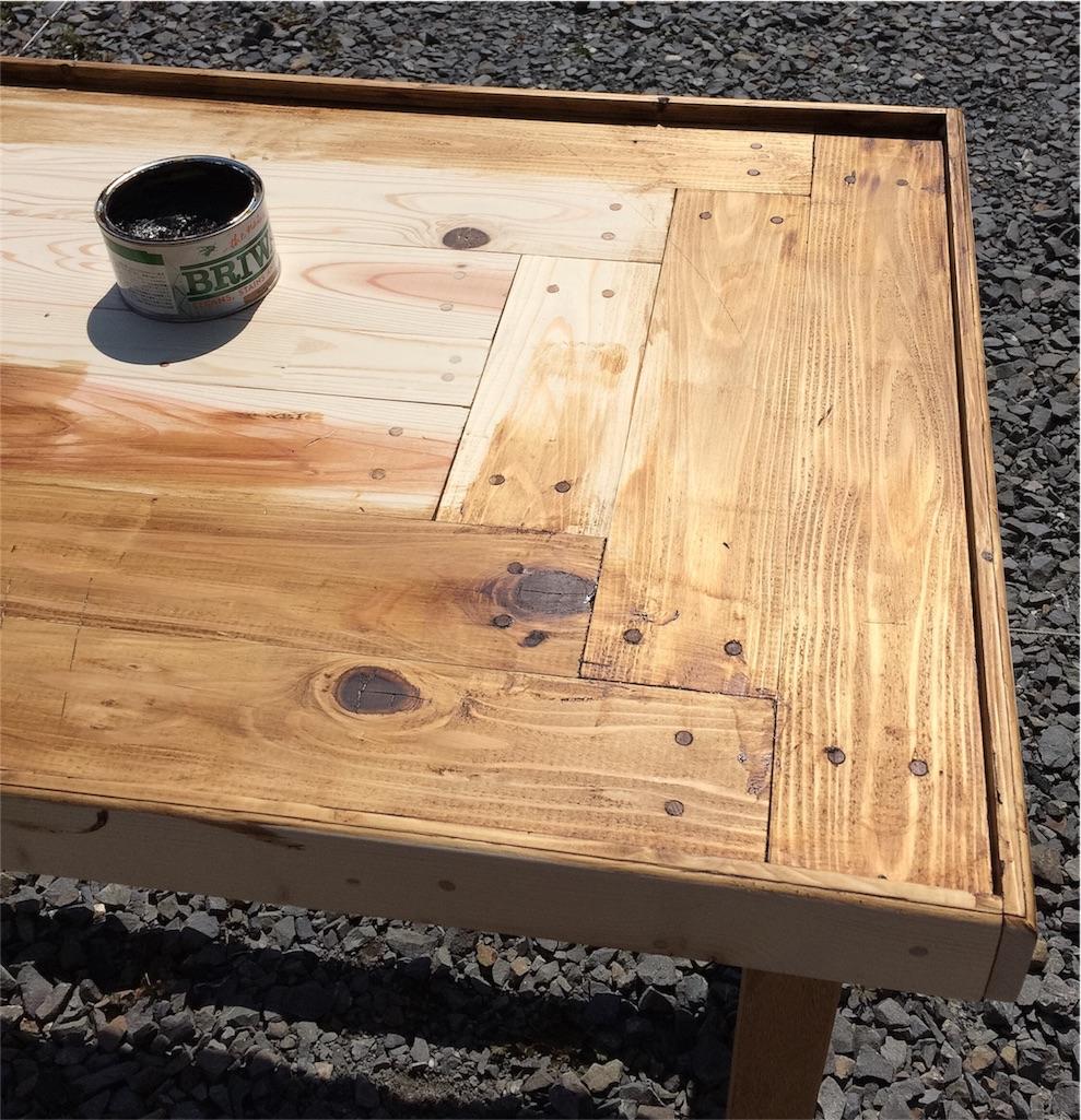 f:id:パッチワークテーブル④