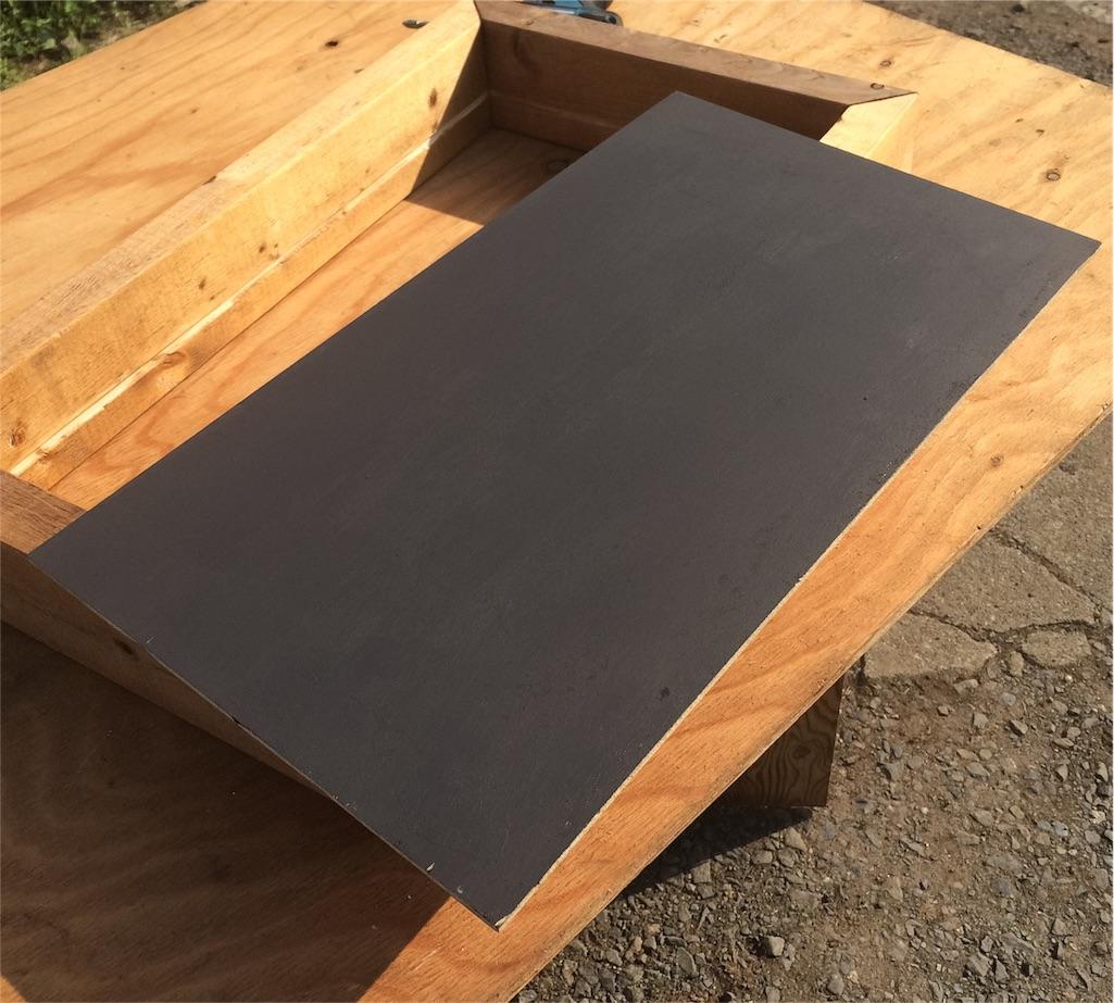 f:id:黒板塗料DIY