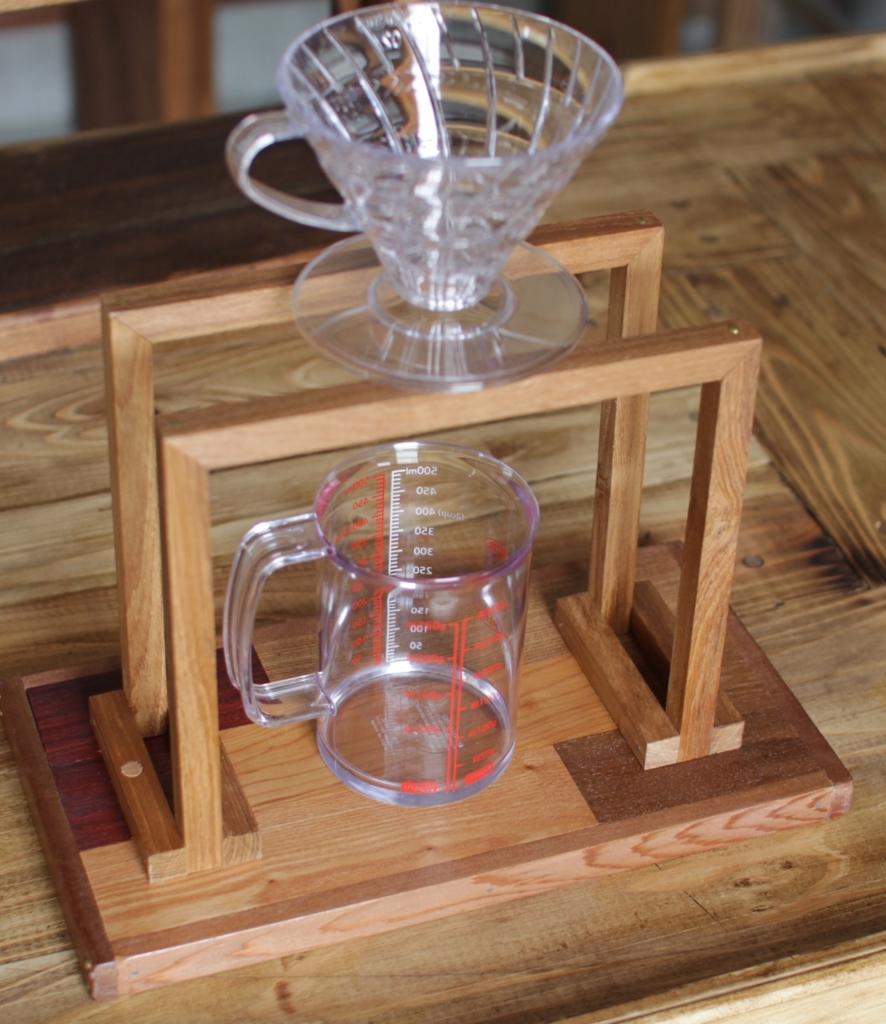 f:id:木製ドリップスタンド