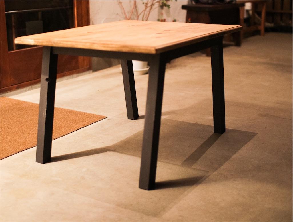 f:id:アイアンのテーブル②