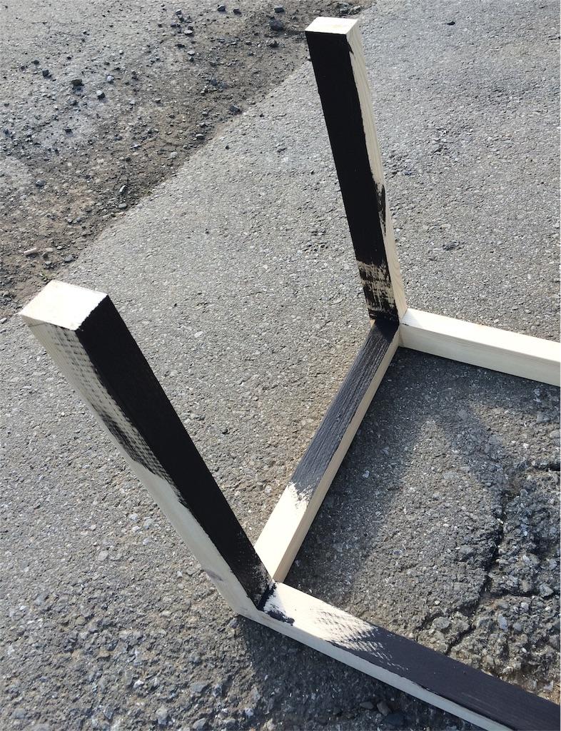 f:id:アイアン風デスク脚塗装