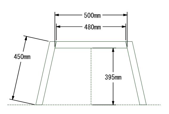 f:id:脚組立パーツ図面