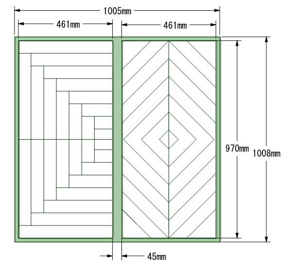 f:id:ヘリンボーン図面