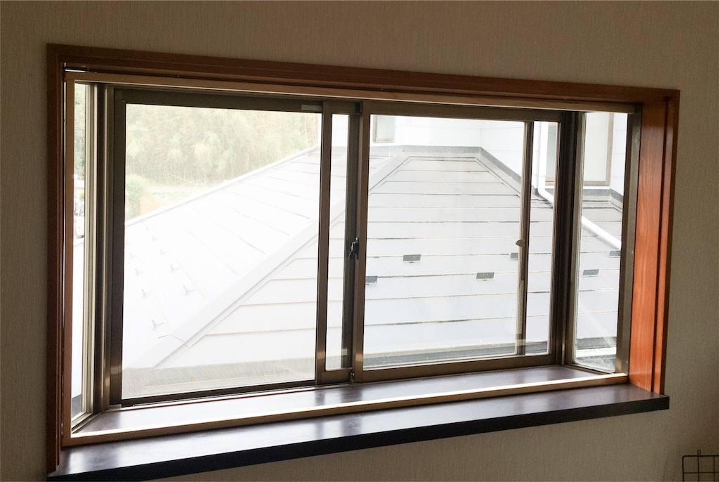 f:id:窓DIY木枠