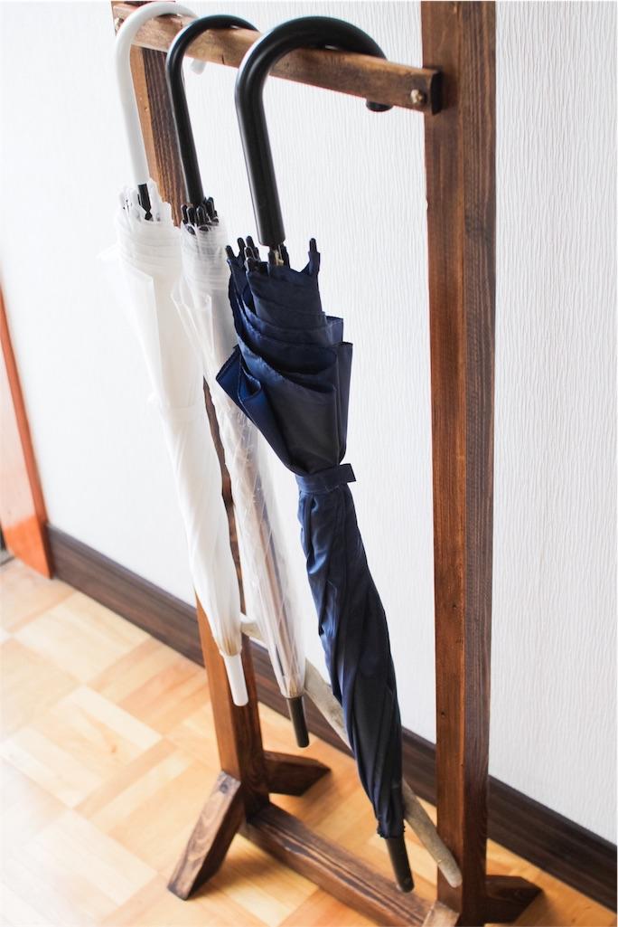 f:id:手作り傘立て②