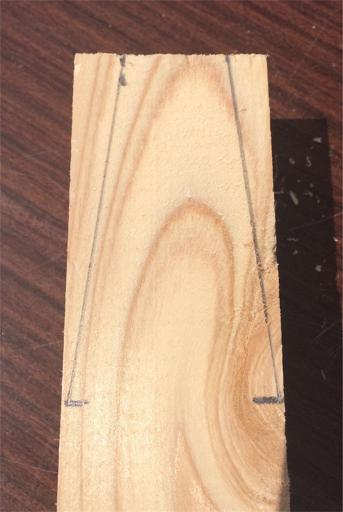 f:id:木材墨付け