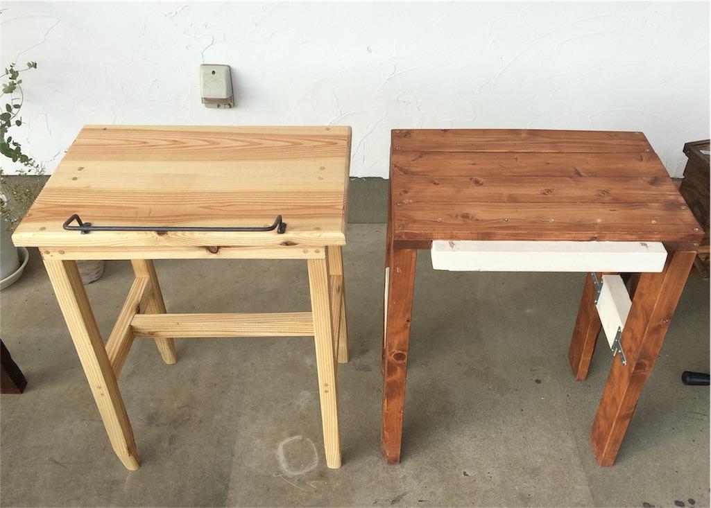 f:id:カフェ什器DIY