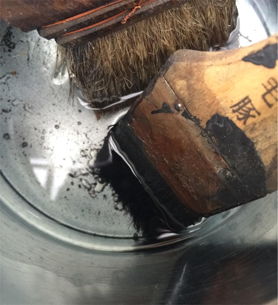 f:id:うすめ液で刷毛洗い