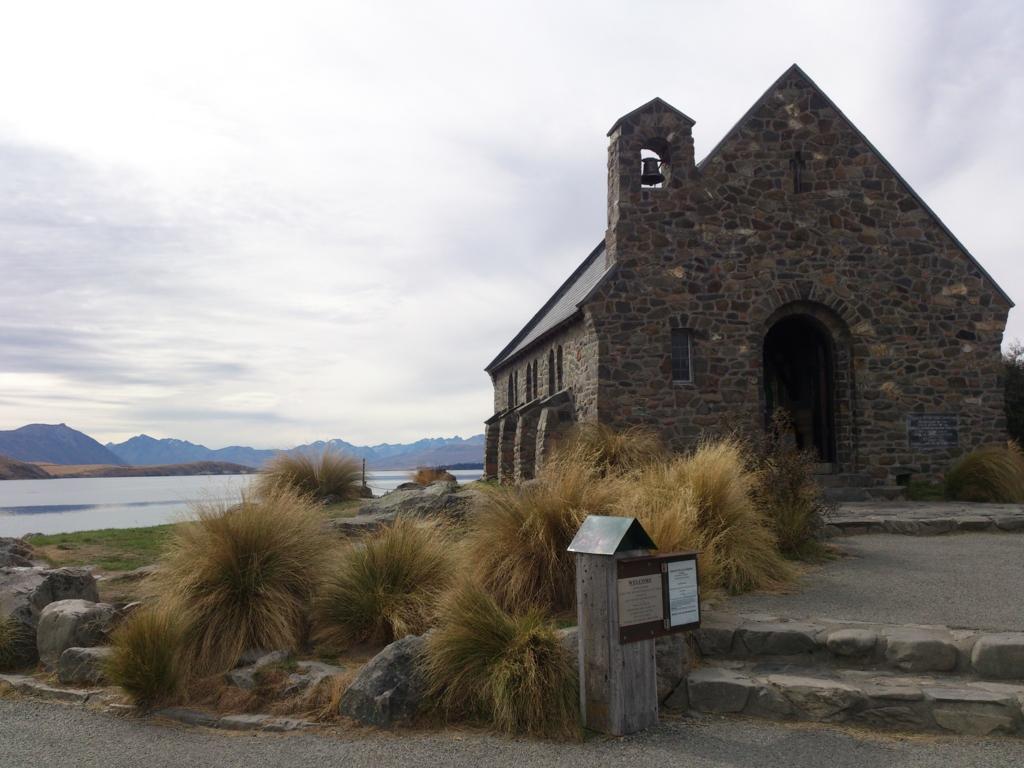 テカポ湖の教会